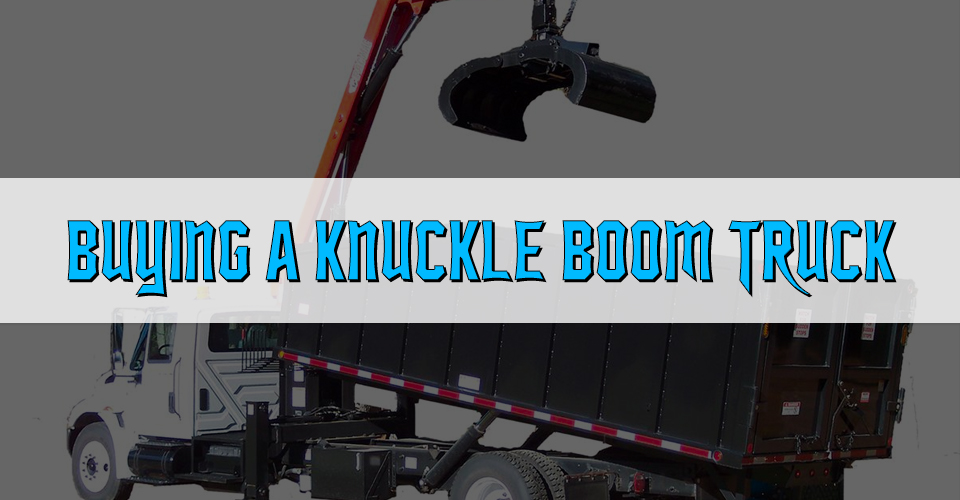 Knuckle Boom Truck